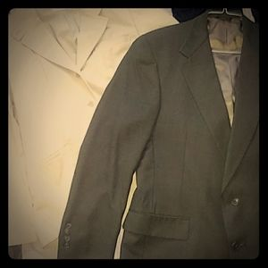2 Suit Jackets Brown & Khaki
